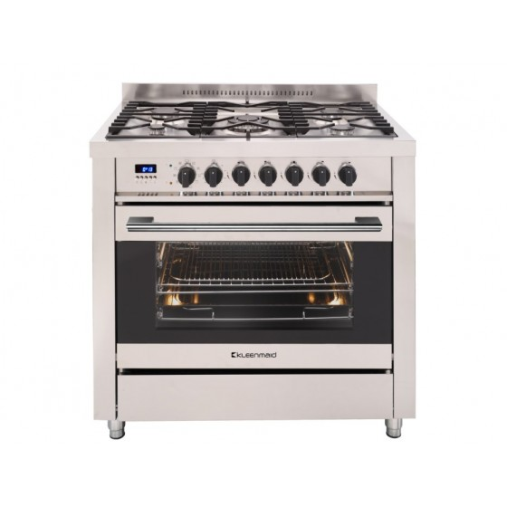 Kleenmaid 90cm 109L Dual Fuel Freestanding Oven/Stove OFS9020
