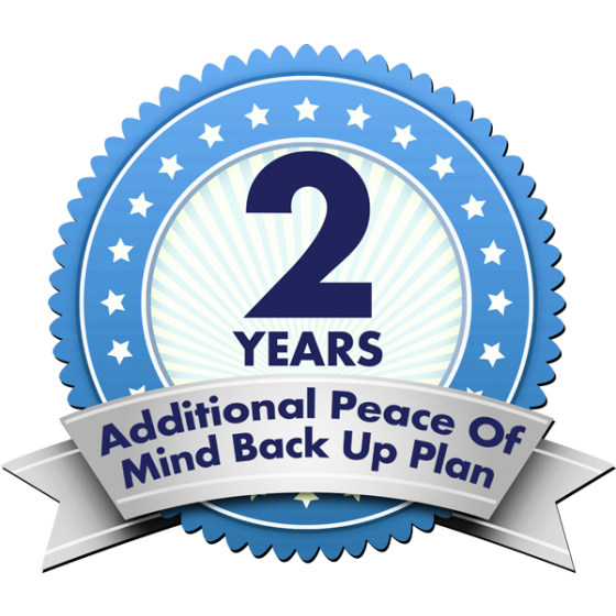 2 Years Additional Peace Of Mind Back Up Plan 3+2WAS500N