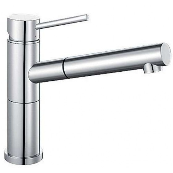 Blanco Chrome 128° Swivel Spout Pull Out Mixer Tap ALTAS