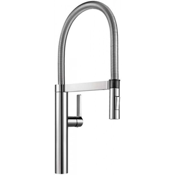 Blanco Chrome 360° Spout Pull Out Flexi Arm Spray Mixer Tap BLANCOCULINA