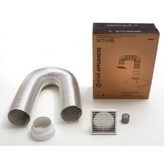Euromaid Rangehood Flue/Vent Ducting Kit Eave DKE