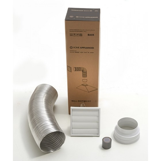 Euromaid Rangehood Flue/Vent Ducting Kit Wall DKW