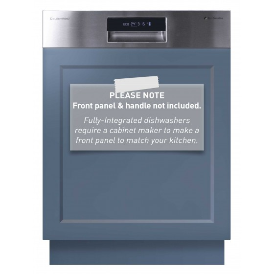 Kleenmaid 60cm Semi-Integrated Dishwasher DW6032