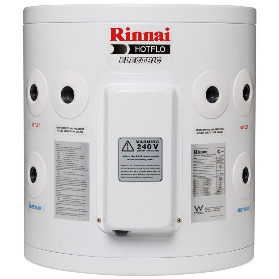 Rinnai HotFlo 25L 3.6kW Hardwired Electric Hot Water Storage Tank EHF25S36