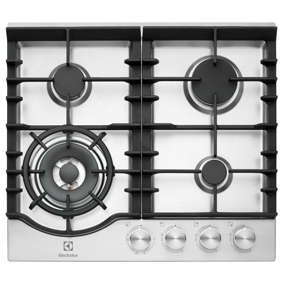 Electrolux 60cm Stainless Steel Gas Cooktop EHG645SD