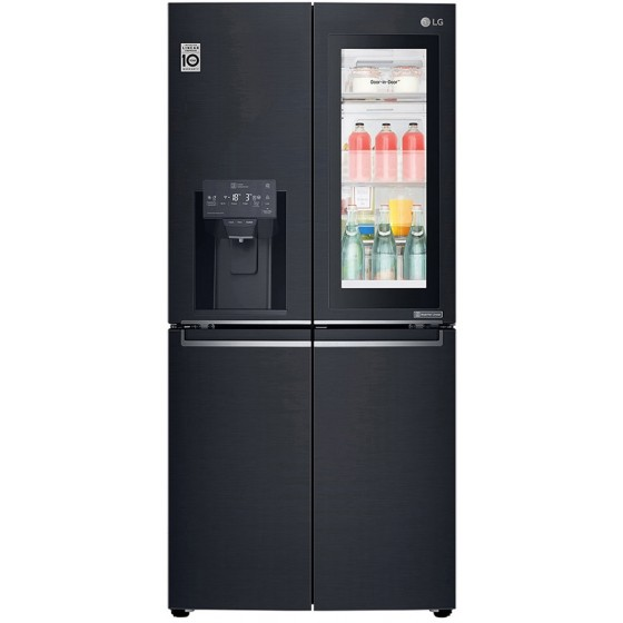 LG 570L Slim French Door Refrigerator GF-V570MBL | Greater Sydney Only