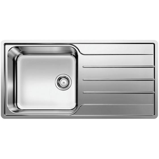 Blanco Single Left Hand Bowl Inset Sink With Drainer LEMISXL6SLIFK5