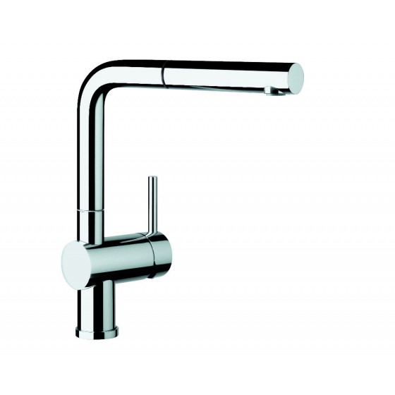 Blanco Chrome 140° Swivel Spout Pull Out Mixer Tap LINUSS