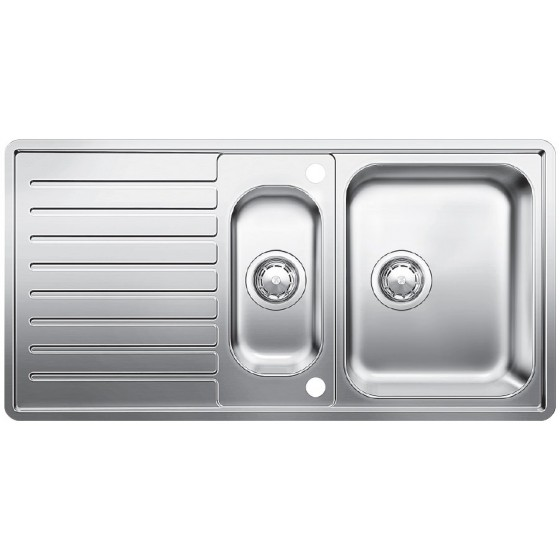 Blanco 1 & 1/4 Double Bowl Inset Sink With Drainer MCLSIFK5