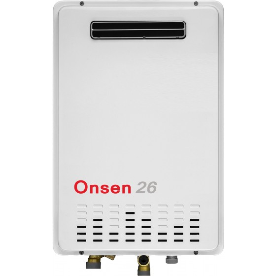 Onsen 50°C 26L Natural Gas Hot Water System ONHW26NG50