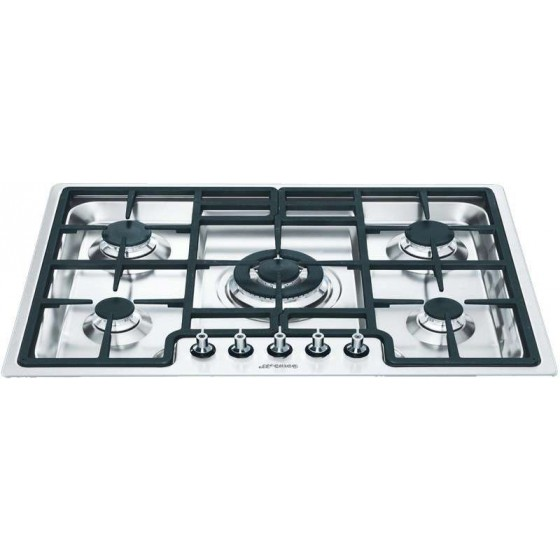 Smeg 72cm Stainless Steel Gas Cooktop PGA75-4