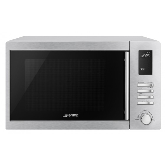 Smeg 34L Microwave With Grill SA34MX