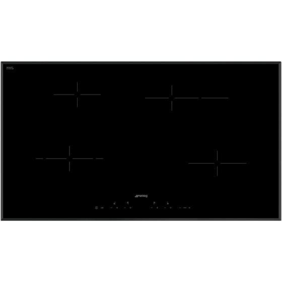 Smeg 90cm Black Ceramic Glass Electric Cooktop SE394EMTBAU