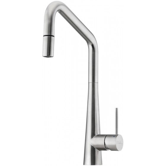 Oliveri Essente Square Goose Neck Pull Out Mixer Tap SS2575