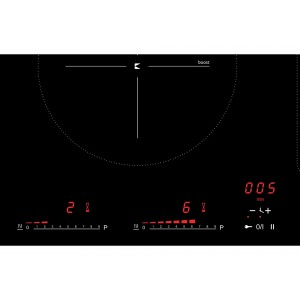 Kleenmaid 60cm Black Ceramic Glass Electric Cooktop CCT6010