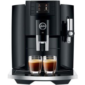 Jura E8 Piano Black Automatic Coffee Machine 15372