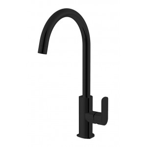 Abey Gareth Ashton Black Madison Kitchen Mixer Tap 2K4-B