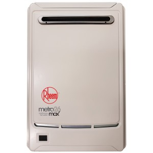 Rheem Metro Max 50° 26L LPG Gas Continuous Hot Water Unit 876T26PF