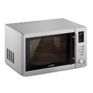 Smeg 34L Inverter Microwave With Grill SAM34XI