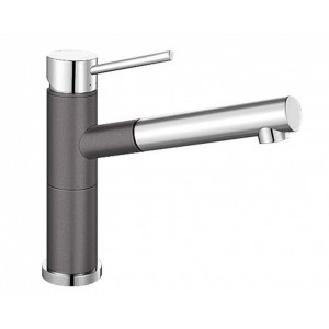 Blanco Rock Grey 128° Swivel Spout Pull Out Mixer Tap ALTASG