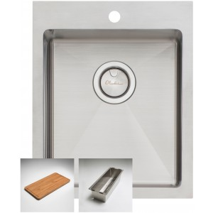 Oliveri Apollo Standard Bowl Inset/Undermount/Flush Sink AP1451