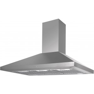 Airvolution 90cm Canopy Rangehood ARC90BS