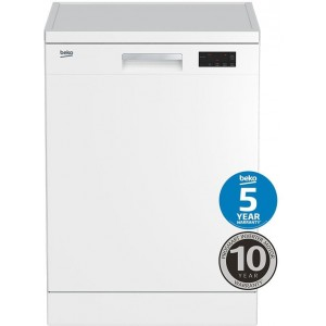 Beko 60cm Freestanding Dishwasher BDF1410W
