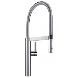 Blanco Brushed Chrome 360° Swivel Spout Flexi Arm Mixer Tap BLANCOCULINABR