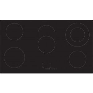 Casa 90cm Black Ceramic Glass Electric Cooktop CA90FEG