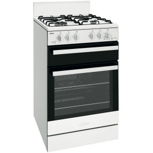 Chef 54cm Natural Gas/Gas Freestanding Oven/Stove CFG503WBNG