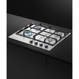 Fisher & Paykel 60cm Stainless Steel Gas Cooktop CG604DX1