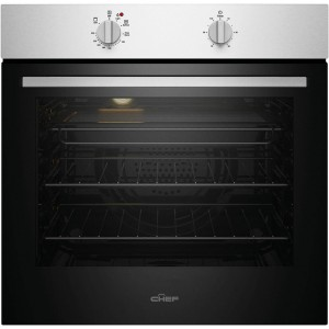 Chef 60cm Multifunction Electric Built-In Wall Oven CVE612SB