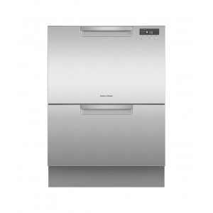 Fisher & Paykel 60cm EZKleen Built-In Double DishDrawer Dishwasher DD60DCX9
