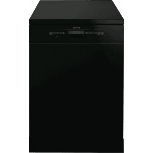 Smeg 60cm Black Freestanding Dishwasher DWA6314B2