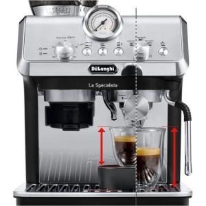 Delonghi La Specialista Arte Manual Pump Coffee Machine EC9155MB