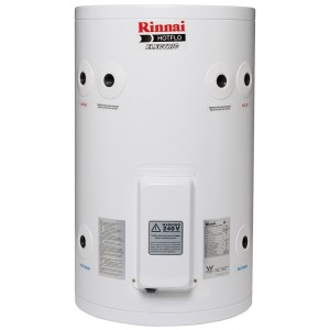 Rinnai HotFlo 50L 3.6kW Hardwired Electric Hot Water Storage Tank EHF50S36