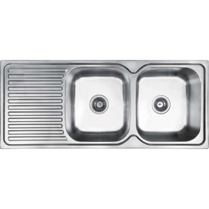 Abey Double Bowl Inset Sink EN200R