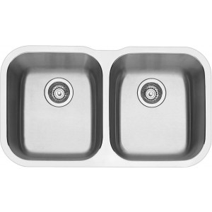 Blanco ESSENTIALU2 Double Bowl Undermount Sink ESSENTU2K5