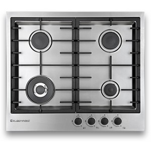 Kleenmaid 60cm Stainless Steel Gas Cooktop GCT6030