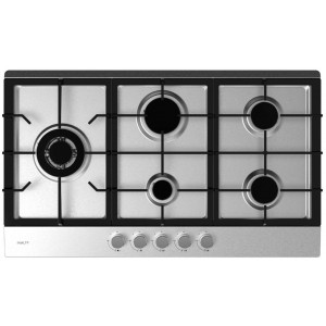 InAlto 90cm Gas Cooktop with Wok Burner ICG905WS