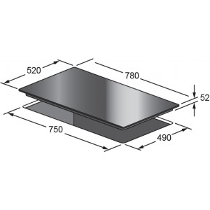 Kleenmaid 80cm Induction Cooktop ICT8021