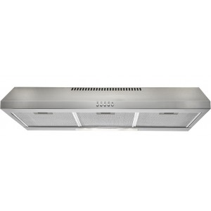 Euromaid 90cm Stainless Steel Fixed Rangehood R90FS