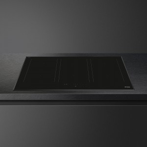 Smeg 90cm Black Ceramic Glass Induction Cooktop SAI3963B