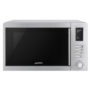 Smeg 34L Inverter Convection Microwave With Grill SAM34CXI