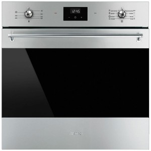 Smeg 60cm 79L Classic Thermoseal Pyrolytic Electric Wall Oven SFPA6300TVX