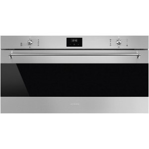 Smeg 90cm 100L Classic Thermoseal Electric Wall Oven SFRA9300TVX