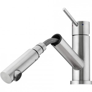 Oliveri Essente Swivel Pull Out Mixer Tap SS2515