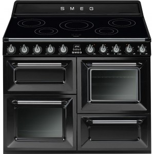Smeg 110cm 70L Victoria Induction Freestanding Oven/Stove TR4110IBL