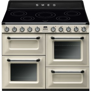Smeg 110cm 70L Victoria Induction Freestanding Oven/Stove TR4110IP