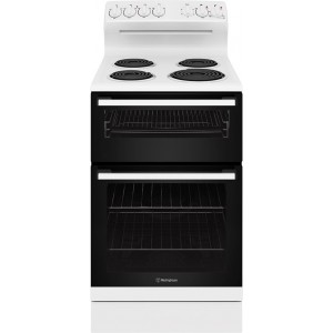 Westinghouse 54cm 80L Freestanding Electric Oven/Stove WLE522WC